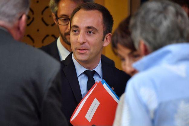 Jean-Marie Girier, 36 ans, pilier de sa campagne en 2017, qui devient le plus jeune préfet de France.