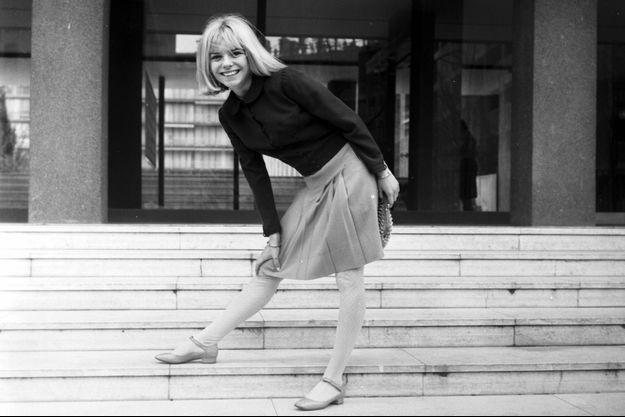 France Gall, ici en 1966. La chanteuse a 19 ans.