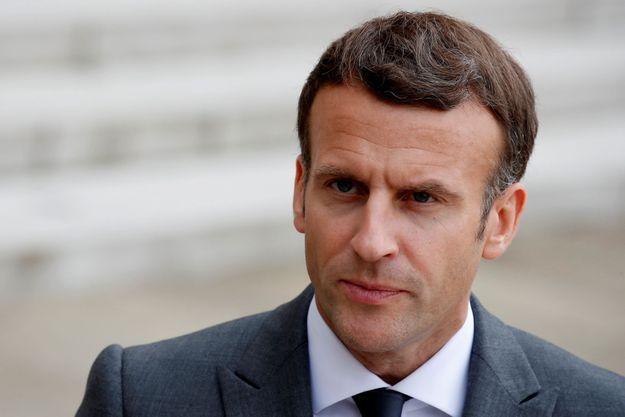 Emmanuel Macron le 12 mai 2021.