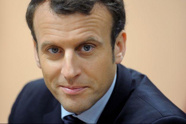 Emmanuel Macron, en janvier dernier.