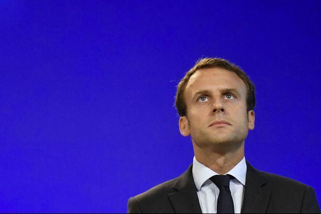 Emmanuel Macron en août 2016.