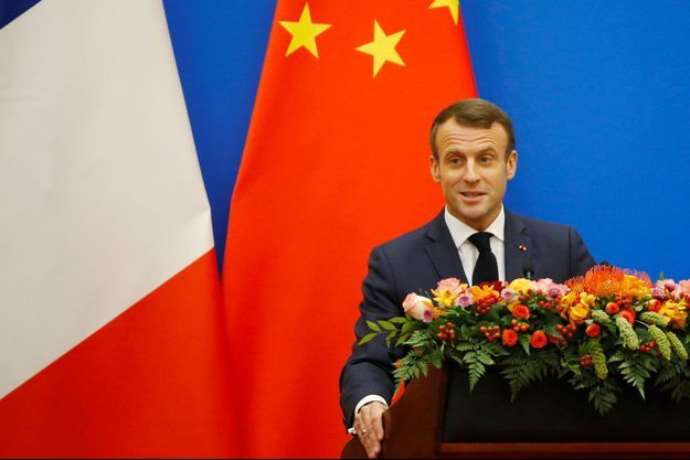 Emmanuel Macron en Chine.