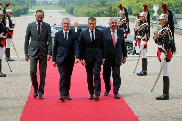 Emmanuel Macron devra composer avec Gérard Larcher et un Sénat à droite. (Photo d'illustration)