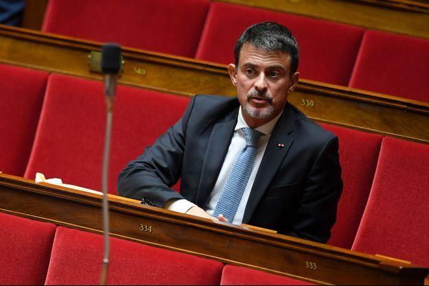 Manuel Valls, ici en octobre à l'Assemblée nationale