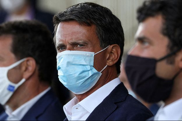 Manuel Valls, ici fin août à l'hippodrome de Longchamp.