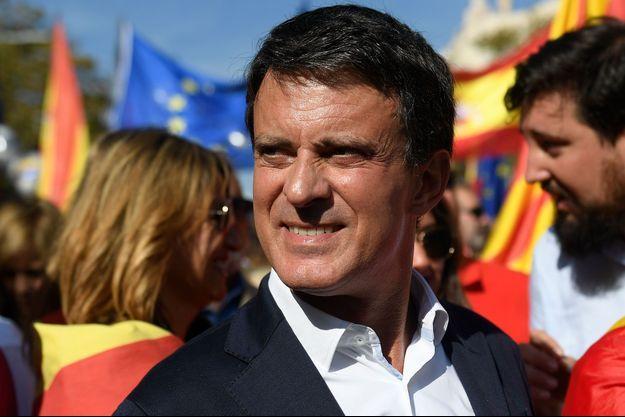 Manuel Valls ici en octobre 2019 à Barcelone.