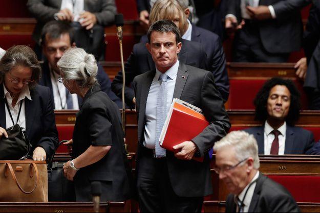 Manuel Valls, ici à l'Assemblée en juin dernier.
