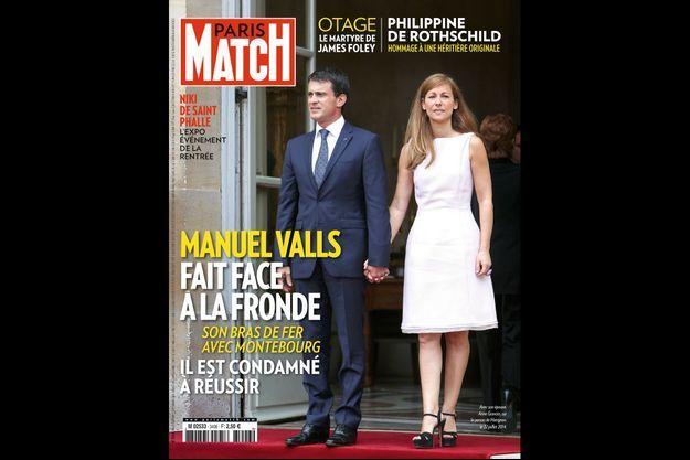 La couverture de Paris Match numéro 3406
