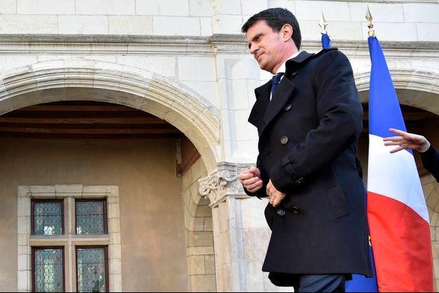 Manuel Valls le premier avril 2016
