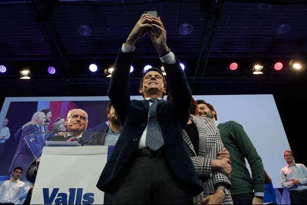 Manuel Valls jeudi à Barcelone.