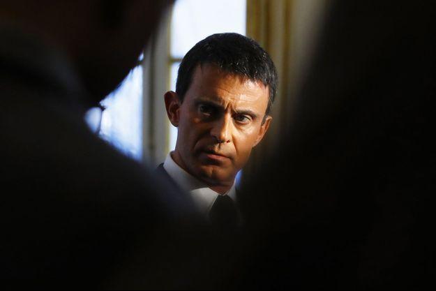 Manuel Valls à Paris, vendredi.