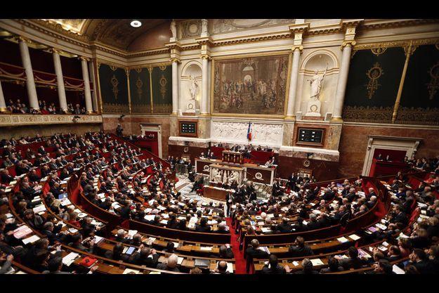 L'hémicycle de l'Assemblée nationale, mardi dernier.