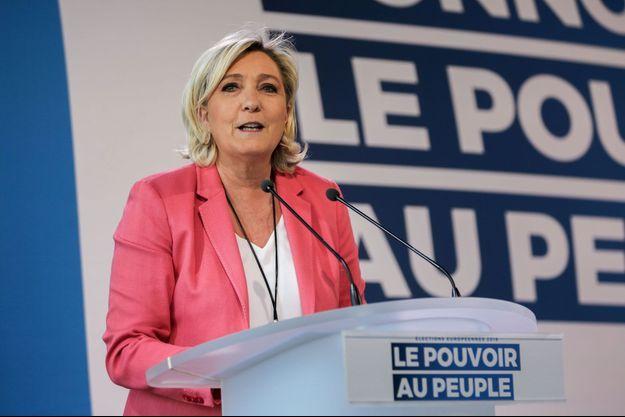 Marine Le Pen le 31 mars 2019.