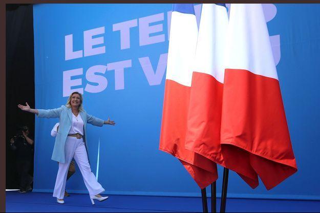 Marine Le Pen dimanche à Fréjus.