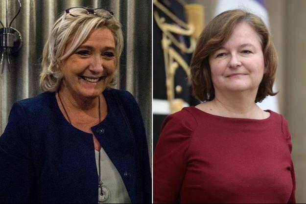 Marine Le Pen et la ministre des Affaires européennes Nathalie Loiseau débattront la semaine prochaine.