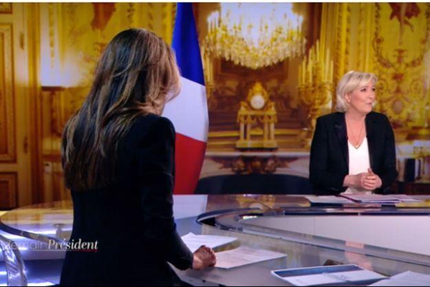 Marien Le Pen mardi invitée de «Demain Président».