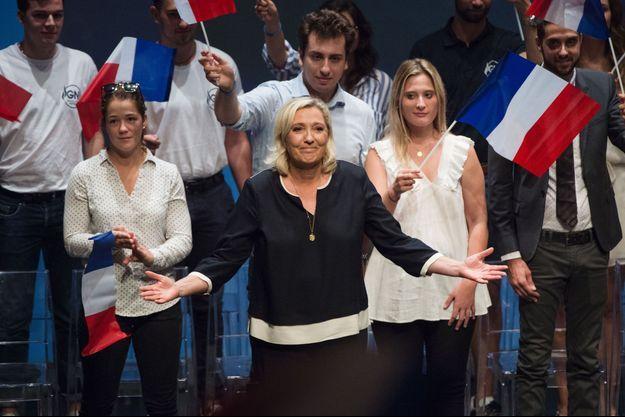 Marine Le Pen à Fréjus, le 15 septembre 2019.