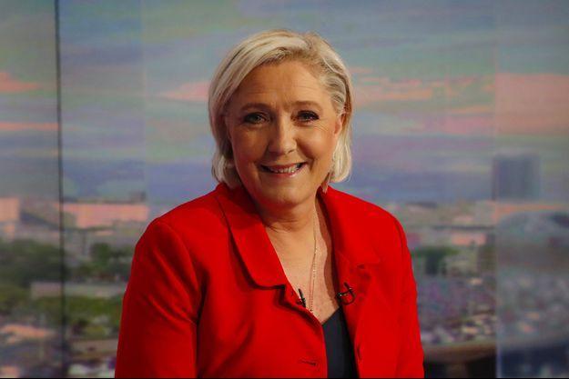 Marine Le Pen, au 20 heures de TF1.