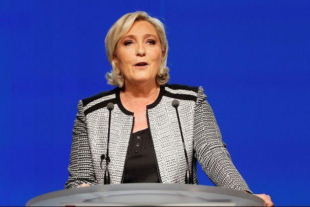Marine Le Pen ici à Lyon début juin.