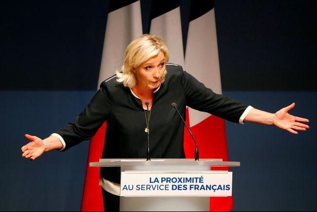 Marine Le Pen à Fréjus, le 15 septembre.