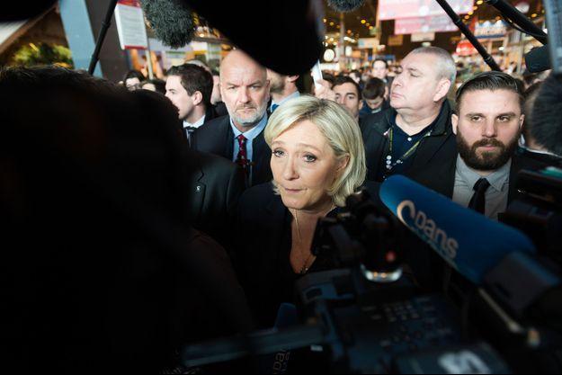 Marine Le Pen au Salon de l'Agriculture 2018.
