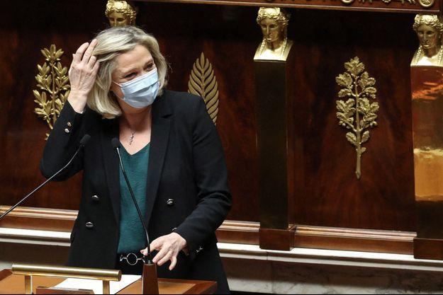 Marine Le Pen à l'Assemblée nationale jeudi.