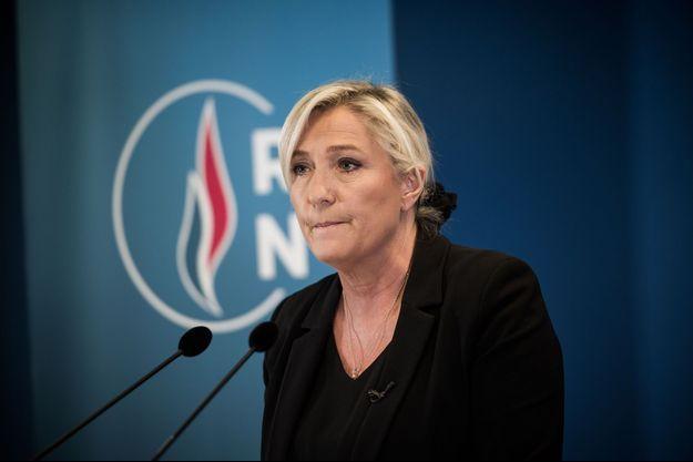 Marine Le Pen le 19 octobre 2020.