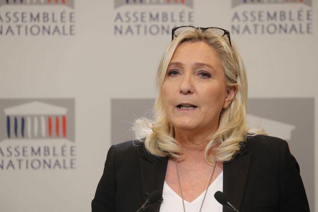 Marine Le Pen le 3 mars 2020 à Paris.