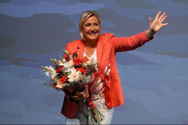 Marine Le Pen à Fréjus, le 6 septembre dernier.