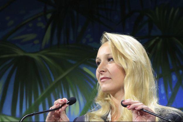 Marion Maréchal, ici en septembre 2019.