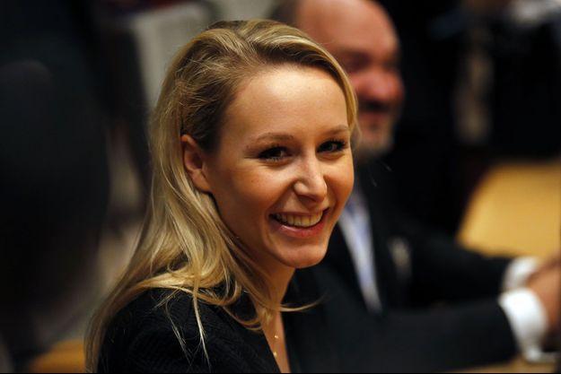 Marion Maréchal-Le Pen à Marseille en décembre 2015.