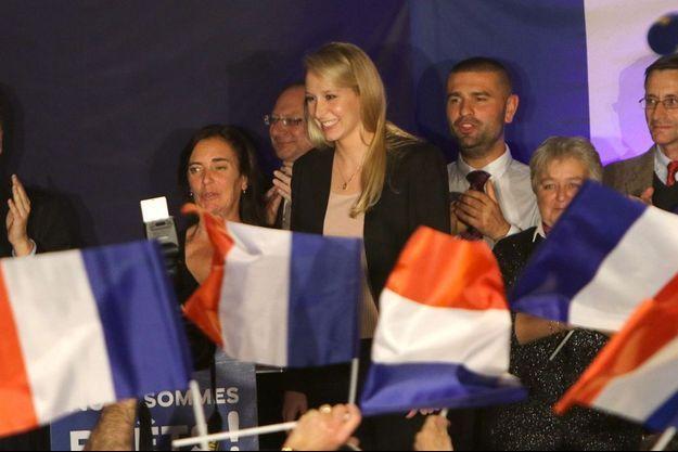 Marion Maréchal-Le Pen après les résultats du premier tour.