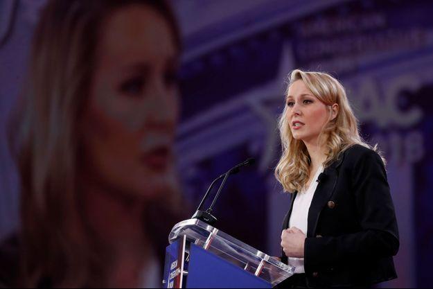 """Marion Maréchal Le Pen lors de """"Conservative Political Action Conference"""" (CPAC)."""