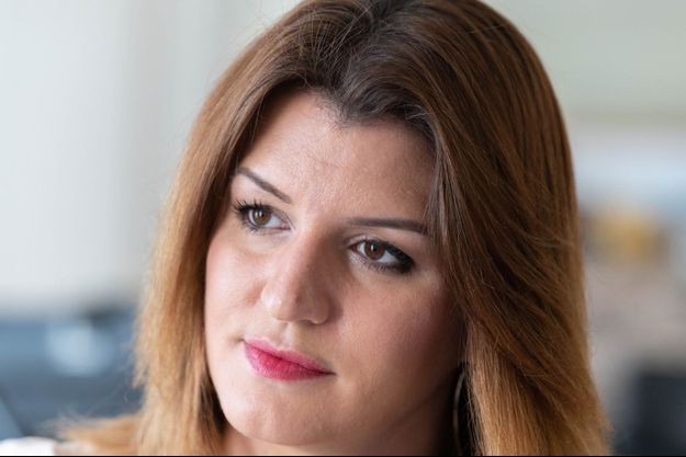 La ministre déléguée à la Citoyenneté Marlène Schiappa, 13 avril 2021.
