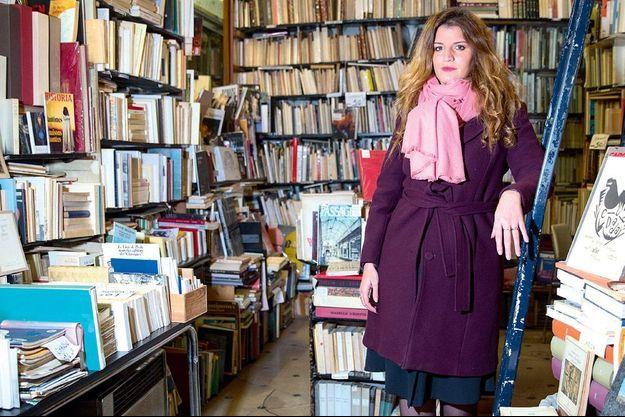 Marlène Schiappa, le 14 novembre, à Paris, dans une librairie rue de Vaugirard.