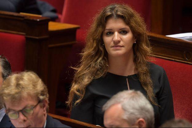 Marlène Schiappa à l'Assemblée nationale, le 18 juin.