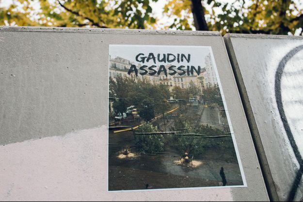 Des messages hostiles à Jean-Claude Gaudin ont fleuri sur les murs de Marseille