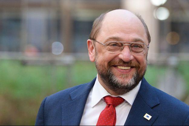 Martin Schulz à Bruxelles le 20 mars dernier.