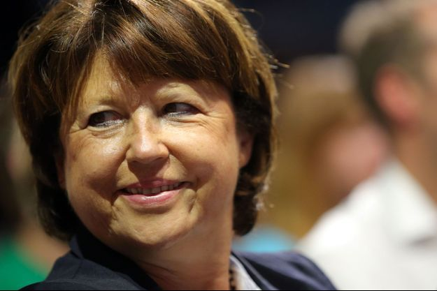 Martine Aubry à l'été 2013.