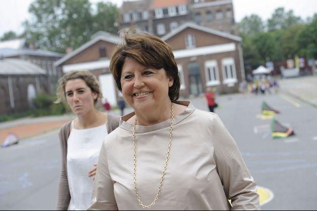 La maire de Lille Martine Aubry, en août 2016.