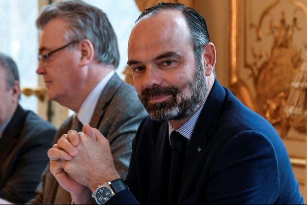 Jean-Paul Delevoye et le Premier ministre, fin novembre à Matignon.