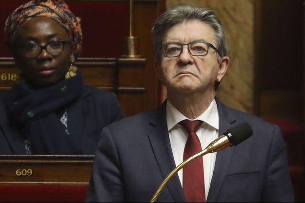 Jean-Luc Mélenchon ici à l'Assemblée le 22 mars.