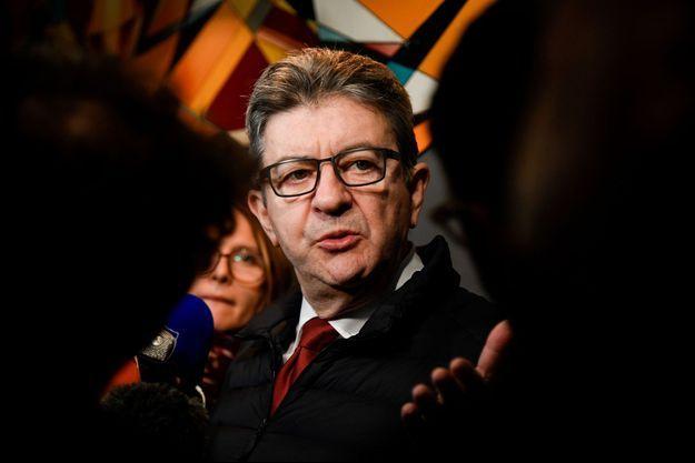 Jean-Luc Mélenchon à Marseille, le 2 février 2019.
