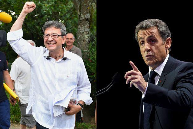 Jean-Luc Mélenchon fin août, Nicolas Sarkozy dimanche dernier.