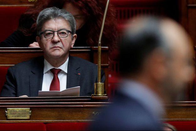Jean-Luc Mélenchon en juin à l'Assemblée nationale.