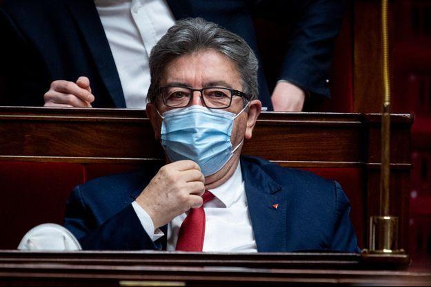 Jean-Luc Mélenchon jeudi à l'Assemblée nationale.