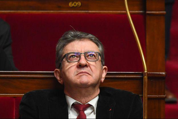 Jean-Luc Mélenchon à l'Assemblée nationale, mercredi dernier.