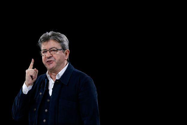 Jean-Luc Mélenchon en meeting à Rennes, le week-end dernier.