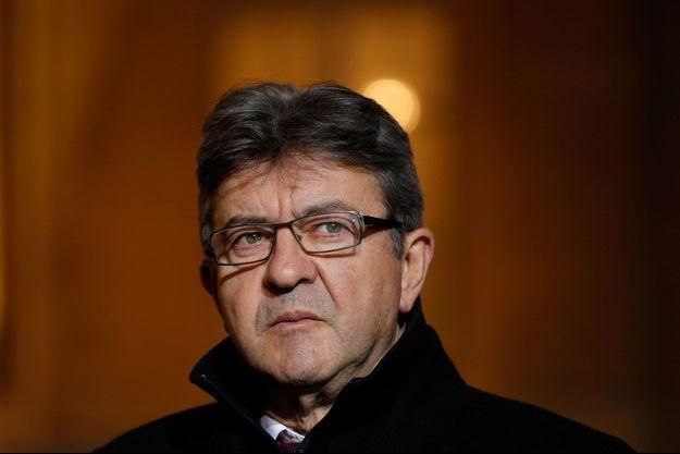 Jean-Luc Mélenchon à l'Elysée le 21 novembre.