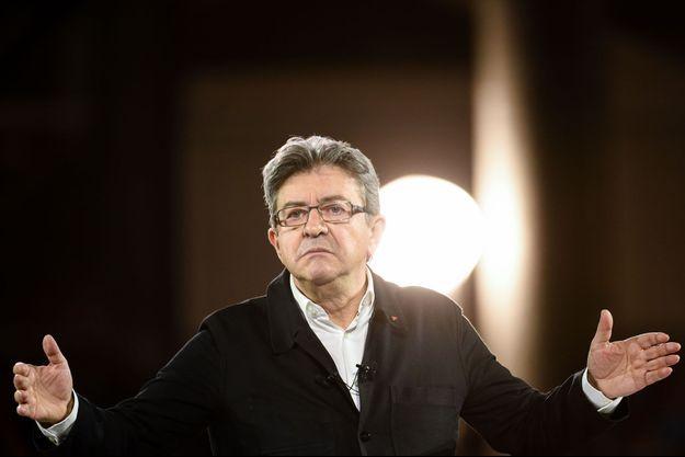 Jean-Luc Mélenchon à Lille, le 12 avril.